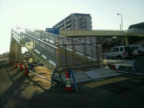 新歩道橋 near by <br /> サンクス